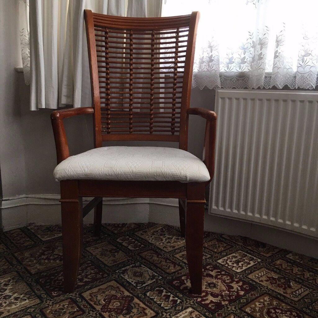 Set of 2 Dining Table Chairs