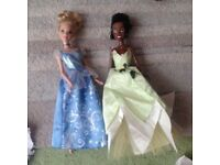 Cinderella & Princess Tiana