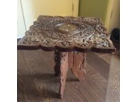 Small indian style table