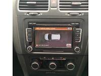 VW Golf 6/Passat DAB radio unit, faulty