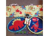 Dinosaur bedroom stuff