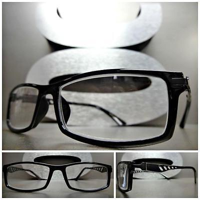 Herren Damen Moderne Stil Lesen Brillen Cool Lesebrillen Schwarzer Rahmen + 1.75