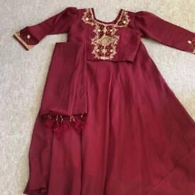 Three piece chaniya choli . Indian traditional wear
