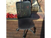 Black IKEA chair excellent condition open to offers