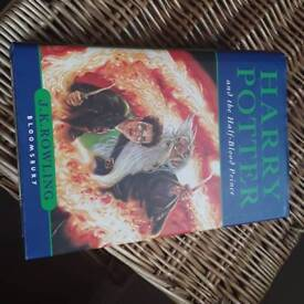 First edition hardback Harry Potter And The Half-blood Prince