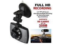 FULL HD CAR DASHCAM 2.4 INCH LCD SCREEN REDUCED PRICE