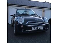 Mini Cooper Convertible 1.6 Petrol Manual, 58k, immaculate condition inside and out