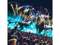 2x Creamfields Gold (2 Day Weekend Non-Camping) Tickets