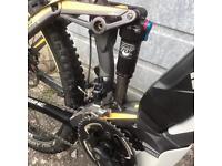 Haibike all mountain sduro electric mountain bike.