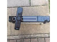 Vu plus duo with remote controller for parts only