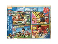 Paw Patrol Bumper Puzzle Pack used excellent condition