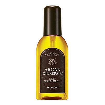 [SkinFood ] NEW! Argan Oil Repair Plus Heat Serum in Oil 100ml - Korea Cosmetic