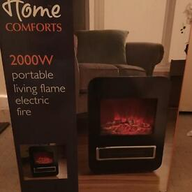 Electric Fire Boxed new £30 ono