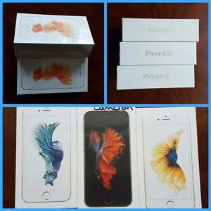 Brand New Apple iPhone 6S Unlocked/Rogers/Telus/Bell and iPhone 6S+Plus Roger/Fido, Apple Warranty! Koodo/Virgin/WIND***