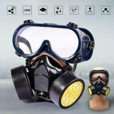 SCHUTZMASKE Gasmaske BW PL Unbenutzt ABC Filter MS-4 Tasche B-Ware DE DHL