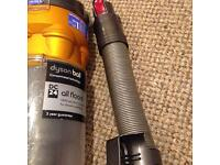 DYSON BALL DC24 HOUSE AND CYCLONE BIN COMPLETE WITH FILTER