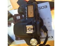 Canon EOS 50D DSLR camera, as new, with Canon 55-250mm IS Zoom Lens