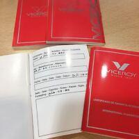 4 Certificates Of Guarantee Viceroy -  - ebay.es