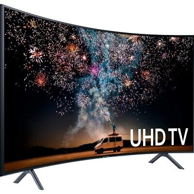 SAMSUNG UE49RU7379 Curved LED TV 49 Zoll schwarz 4K UHD