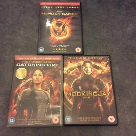 Hunger games trilogy 1-3