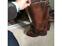Dune boots size 6