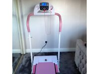 Gym Master Electric pink treadmill