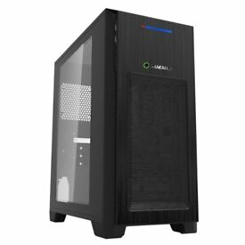 LED Gaming PC and Game with 8th Gen Intel, 480GB SSD + 2TB HDD, GT 1030, 8GB DDR4, WiFi