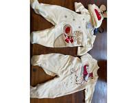Babies kids Xmas Onesies x 2 Brand New 3-6 mths