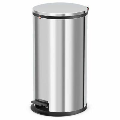 Hailo Pedal Bin Waste Disposal Bucket Pure Size L 25 L Stainless Steel 0530-010