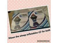 Shaun sheep inflatable