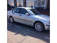 BMW 3 Series , Silver 5 door.