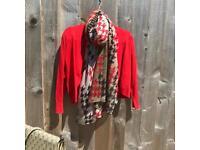 Betty Berkeley crop knit jacket