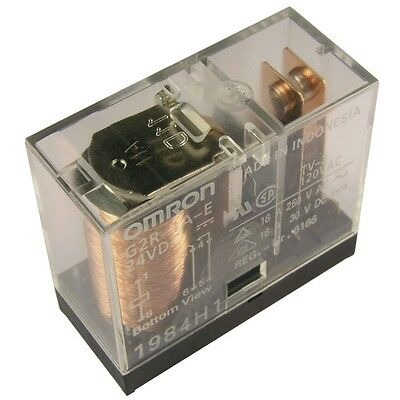 OMRON G2R-1A-E-24 Relais 24V DC 1xEIN 16A 1100R PCB Power Relay 855020 24v Relais