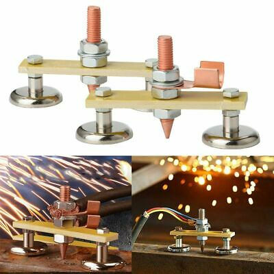 Welding Magnet Head Metal Tail Welding Stability-magnetic Welding Ground Clamp