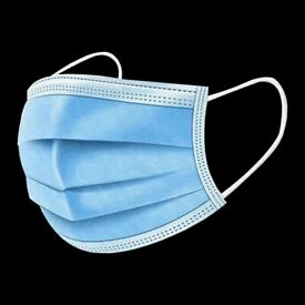Disposable Face Mask | 3 Ply | Non Medical | £0.30 each | Pack of 50
