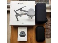 DJI Mavic Pro Drone with additional battery and portable cases