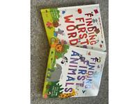 Children's first words books