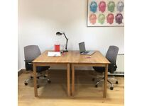 DESK SPACE AVAILABLE: Large open-plan design studio next to Hove Station