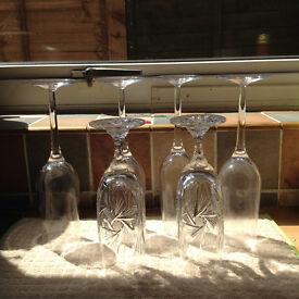 Bargain: set of 6 Champaigne glasses