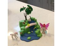 Playmobil fairy garden