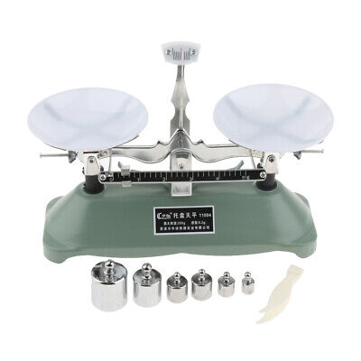 200 Gram Table Balance Scale With 6weights Physics Science Toy Lab Supplies