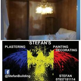 PLASTERING & PAINTING DECORATING