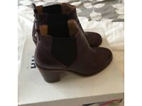 Office boots size 6