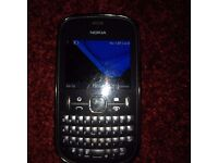 Nokia 201 mobile phone, Unlocked, comes with charger and head-phones boxed.