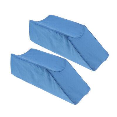 Orthopädische Unterstützung Kissen (2x Schaum Bein Aufzug Kissen Orthopädische Chirurgie Unterstützung)