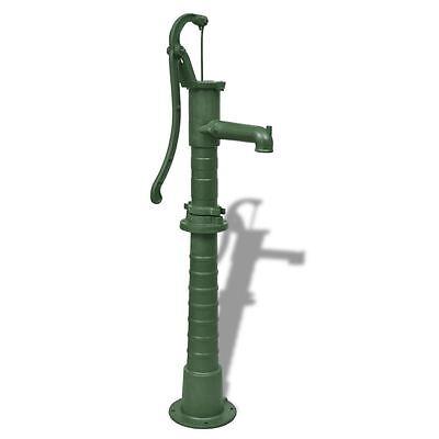 Hand Pump W Stand Cast Iron Well Water Pitcher Press Suction Yard Ponds Garden