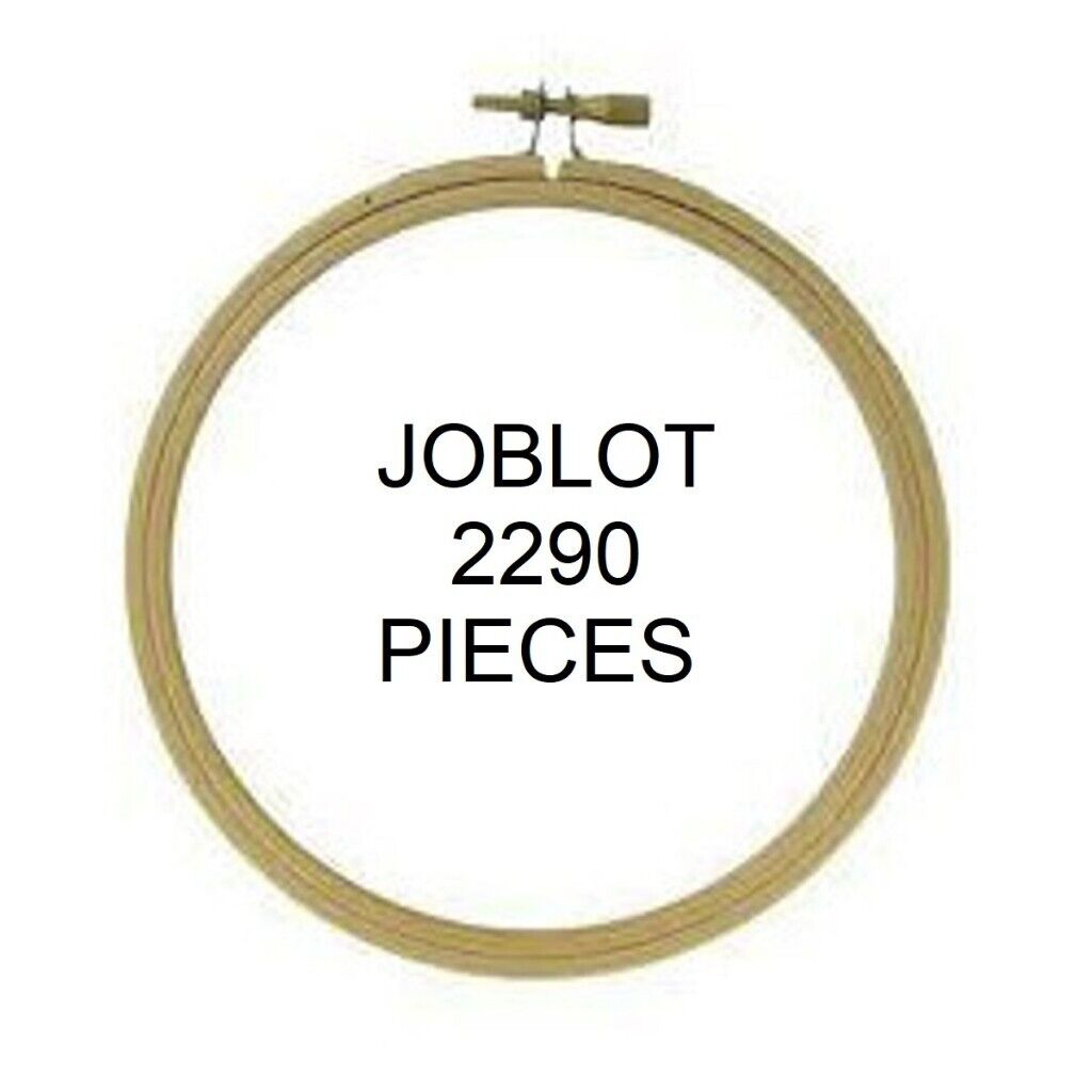 "joblot 2290 embroidery hoop 5"" frames craft Liquidation Stock / Wholesale  8p EACH 