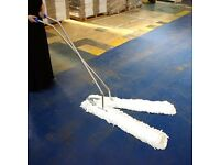 Large V Sweeper Scissor Action Mop, Dust Control for Large Areas