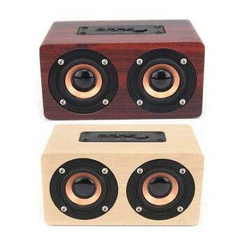 W5 Wireless Bluetooth Dual Speaker Houten Speaker