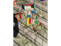 Children's joinery set wooden saw etc